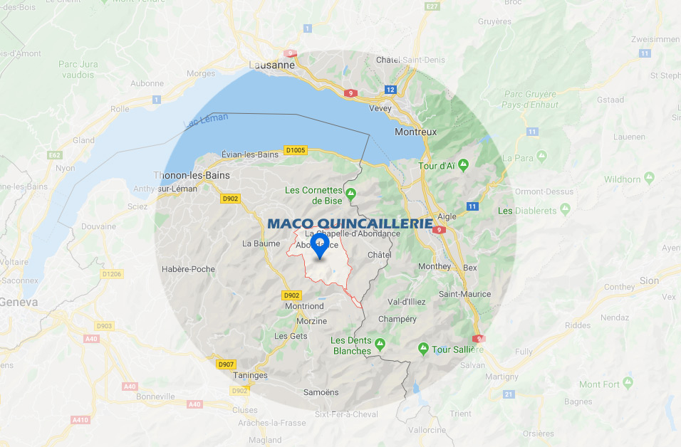 Saint-Jean-d'Aulps | Maco Quincaillerie